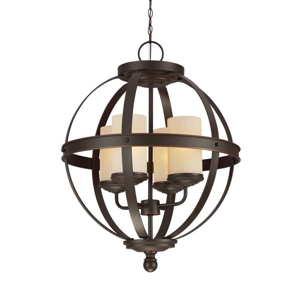 Sfera 4-Light Autumn Bronze Chandelier