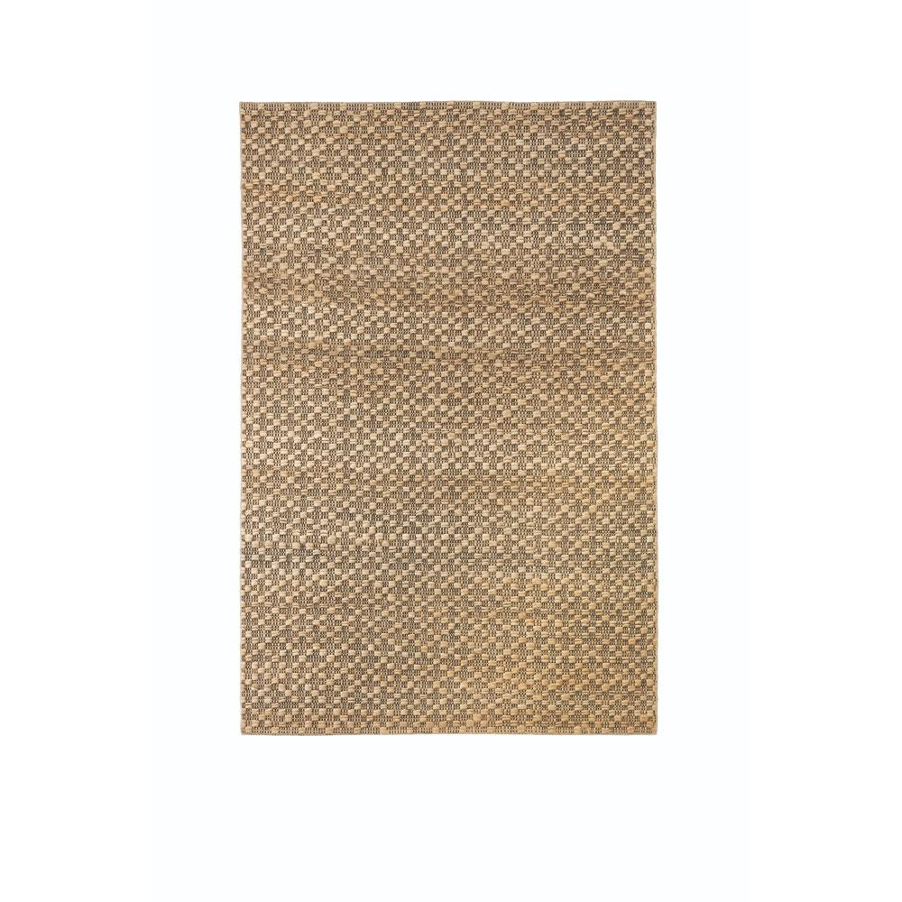 Textured Jute Natural 5 ft. x 8 ft. Area Rug