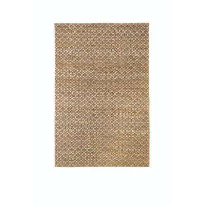 Textured Jute Natural 8 ft. x 11 ft. Area Rug