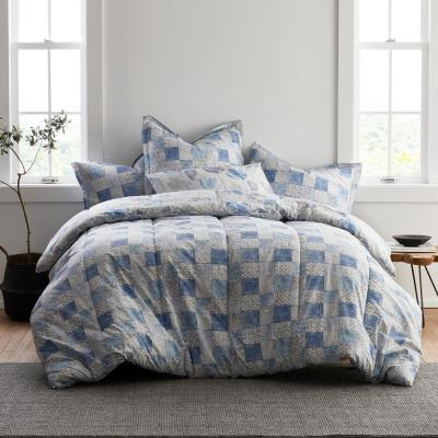 Hadley LoftHome Reversible Cotton Percale Comforter