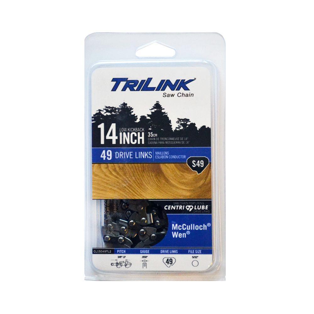 TriLink 14 in  S49 Semi Chisel Chainsaw Chain