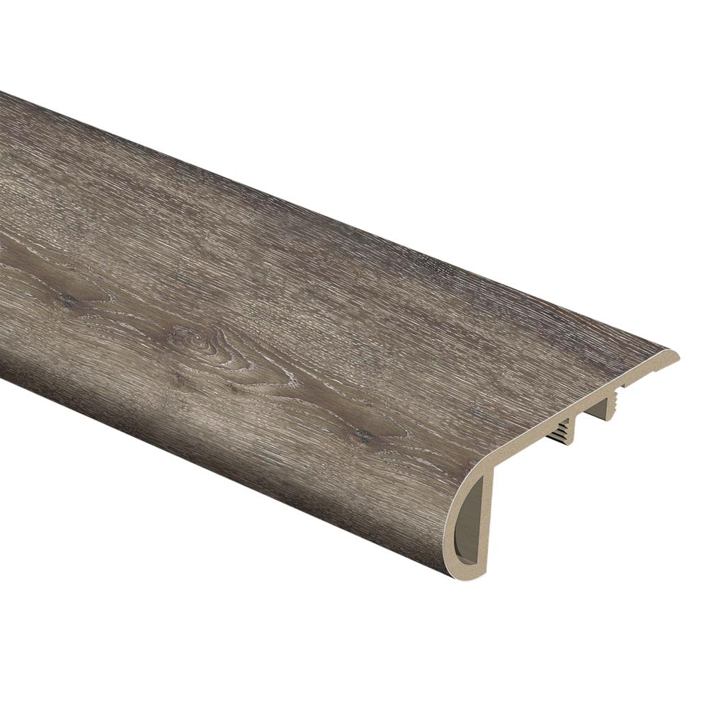 Zamma Dark Grey Oak 1 In Thick X 2 1 2 In Wide X 94 In