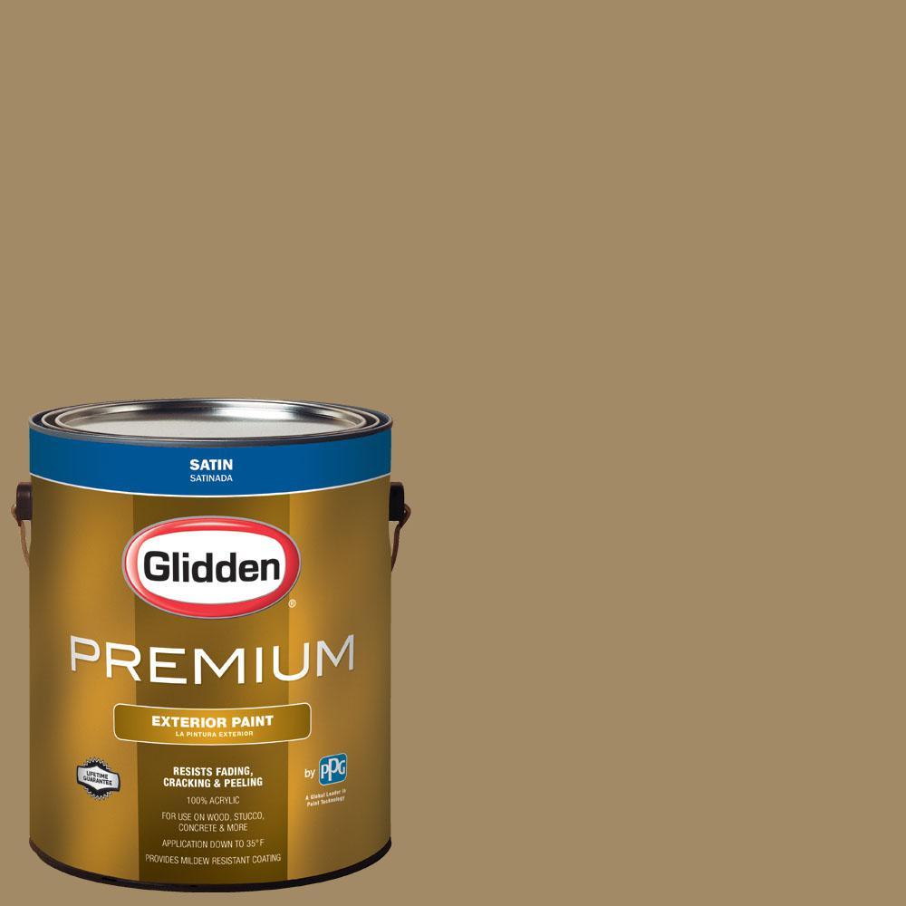 1 gal. #NFL-177C New Orleans Saints Dark Gold Satin Exterior Paint