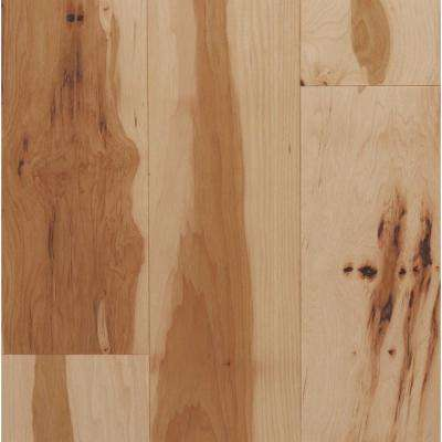 Take Home Sample - Hickory Natural Solid Hardwood Flooring - 5 in. x 7 in.
