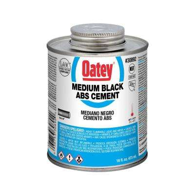 16 oz. ABS Cement in Black