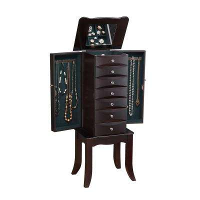 Teresa Jewelry Armoire in Java