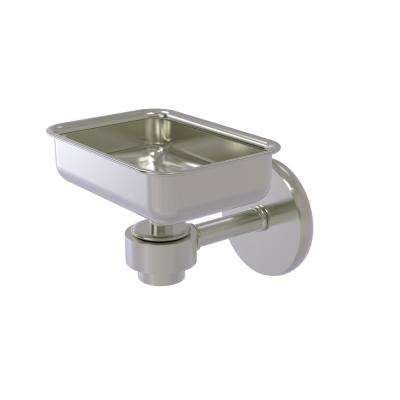 Satellite Orbit One Wall Mounted Soap Dish in Satin Nickel