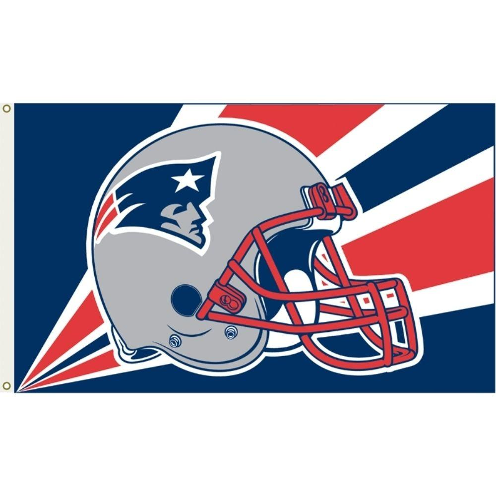 Annin Flagmakers 3 ft. x 5 ft. Polyester New England Patriots Flag