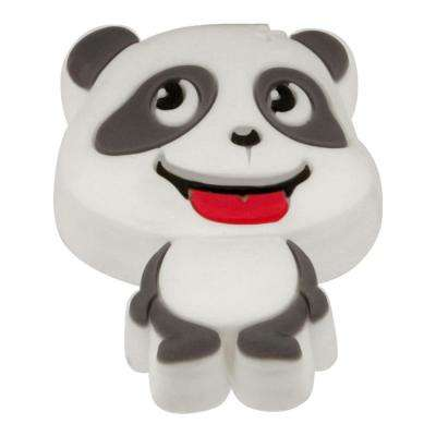 Kids Corner Panda 1 in. x 1-7/16 in. Multi-Colored Metal Cabinet Knob