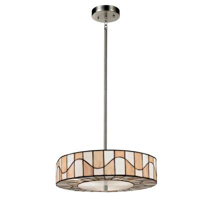Sandfield 2-Light Dark Bronze Pendant
