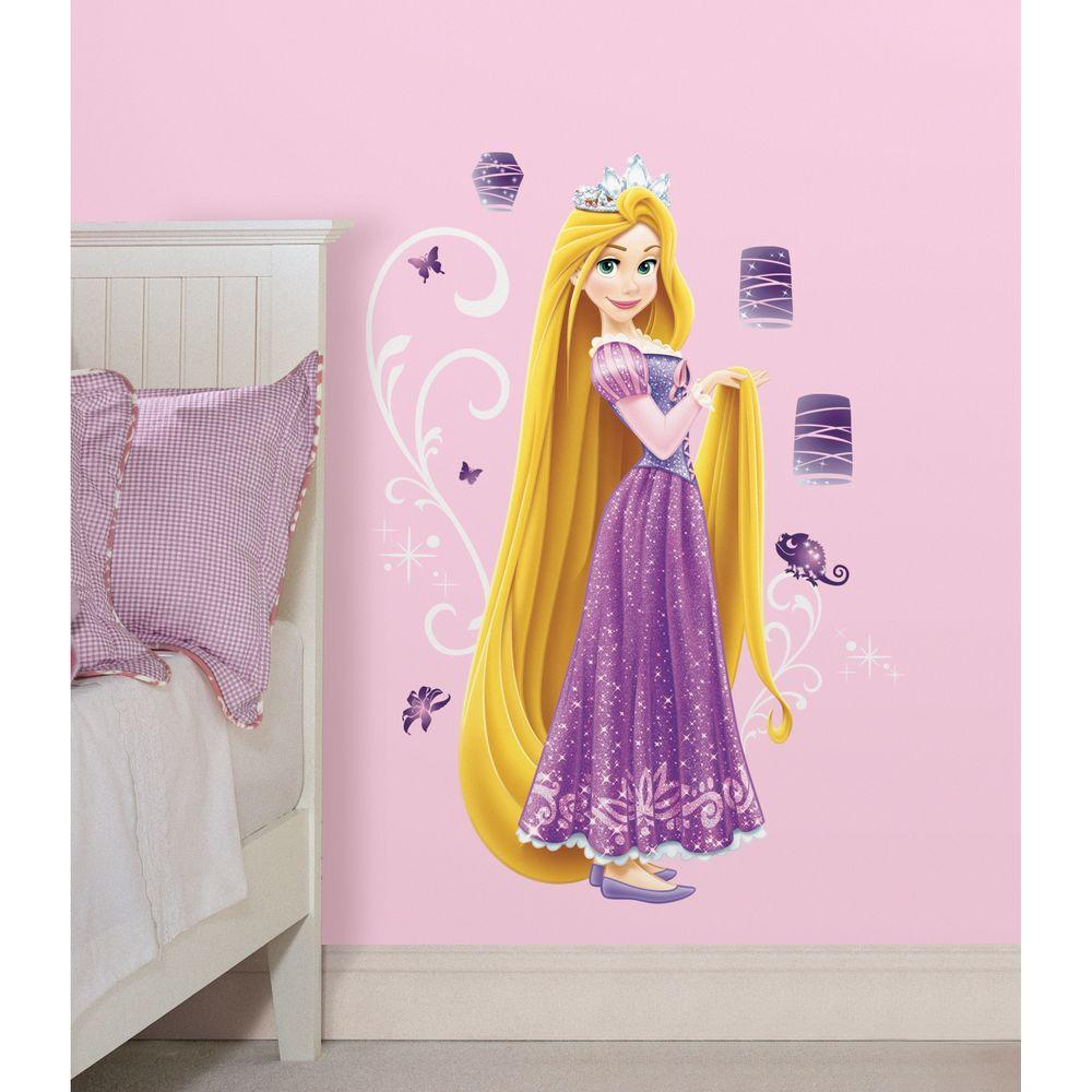 RoomMates 5 in. x 19 in. Disney - Princess Rapunzel Peel and Stick Giant Wall Decal