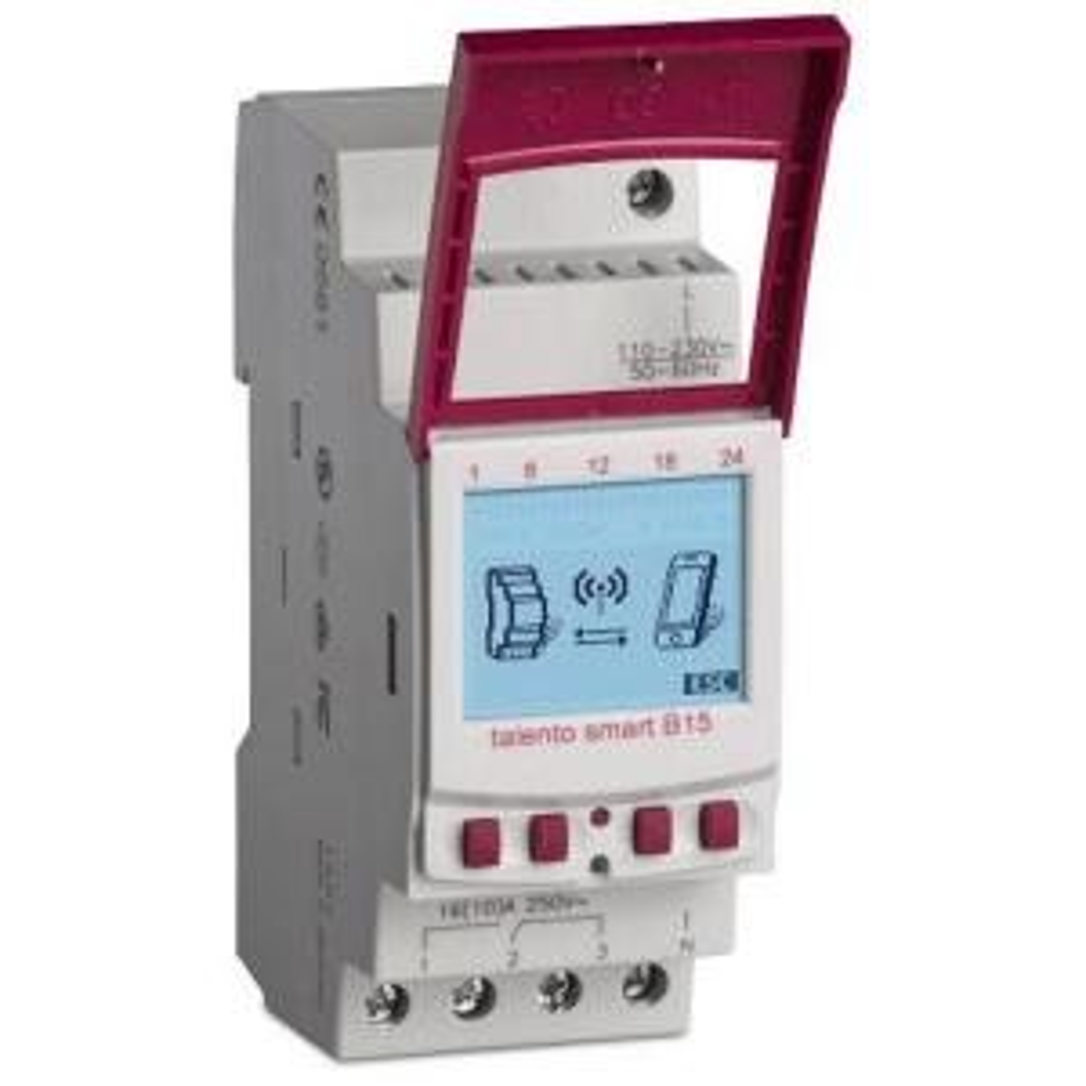 Grasslin Talento Smart 15 Amp 365-Day 1-Circuit Industrial Timer Switch by Grasslin