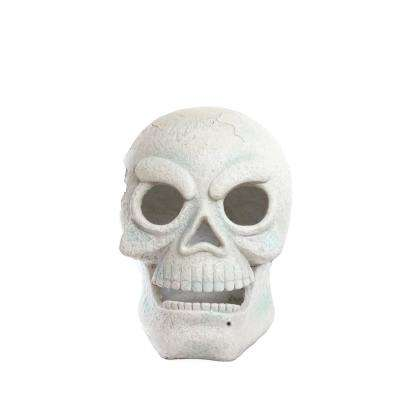 16 in. Skull with 2 Red LEDs and Motion Sensor- Battery Operated