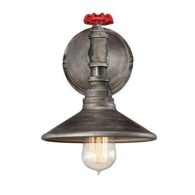 Zinco Collection 1-Light Bronze Wall Sconce