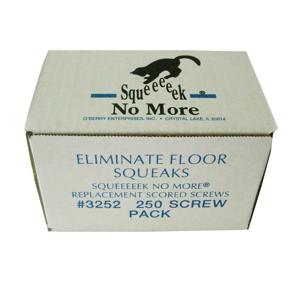 Squeeeeek No More 250 Box of Replacement Screws
