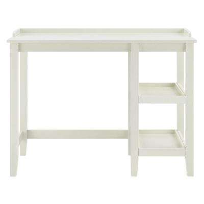 Farhurst White Single Pedestal Desk