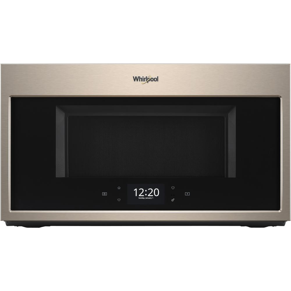 Whirlpool 1.9 cu. ft. Smart Over the Range Microwave in Sunset Bronze with Scan-to-Cook Technology
