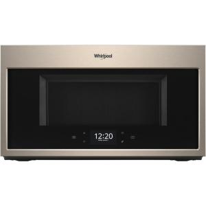 Whirlpool 1 9 Cu Ft Smart Over The Range Microwave In