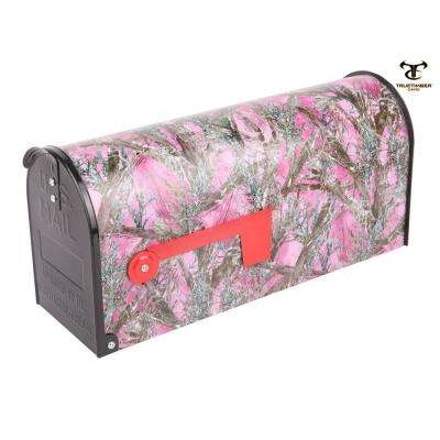 Post Mount Mc2 Pink Mailbox