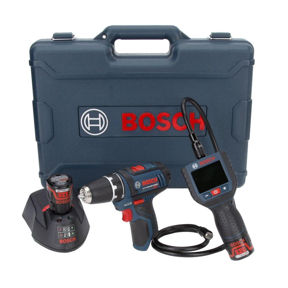Bosch 12 Volt Lithium-Ion Combo Kit (2-Tool)