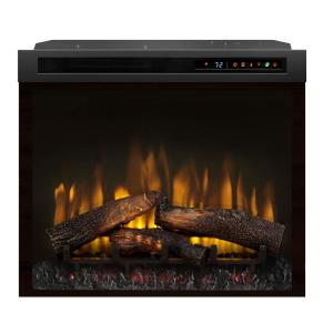 Multi-Fire XHD 28 in. Built-in Electric Fireplace Firebox with Logs