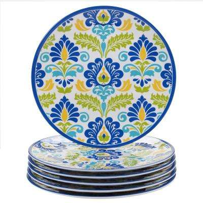 Martinique Multicolor Dinner Plate (Set of 6)