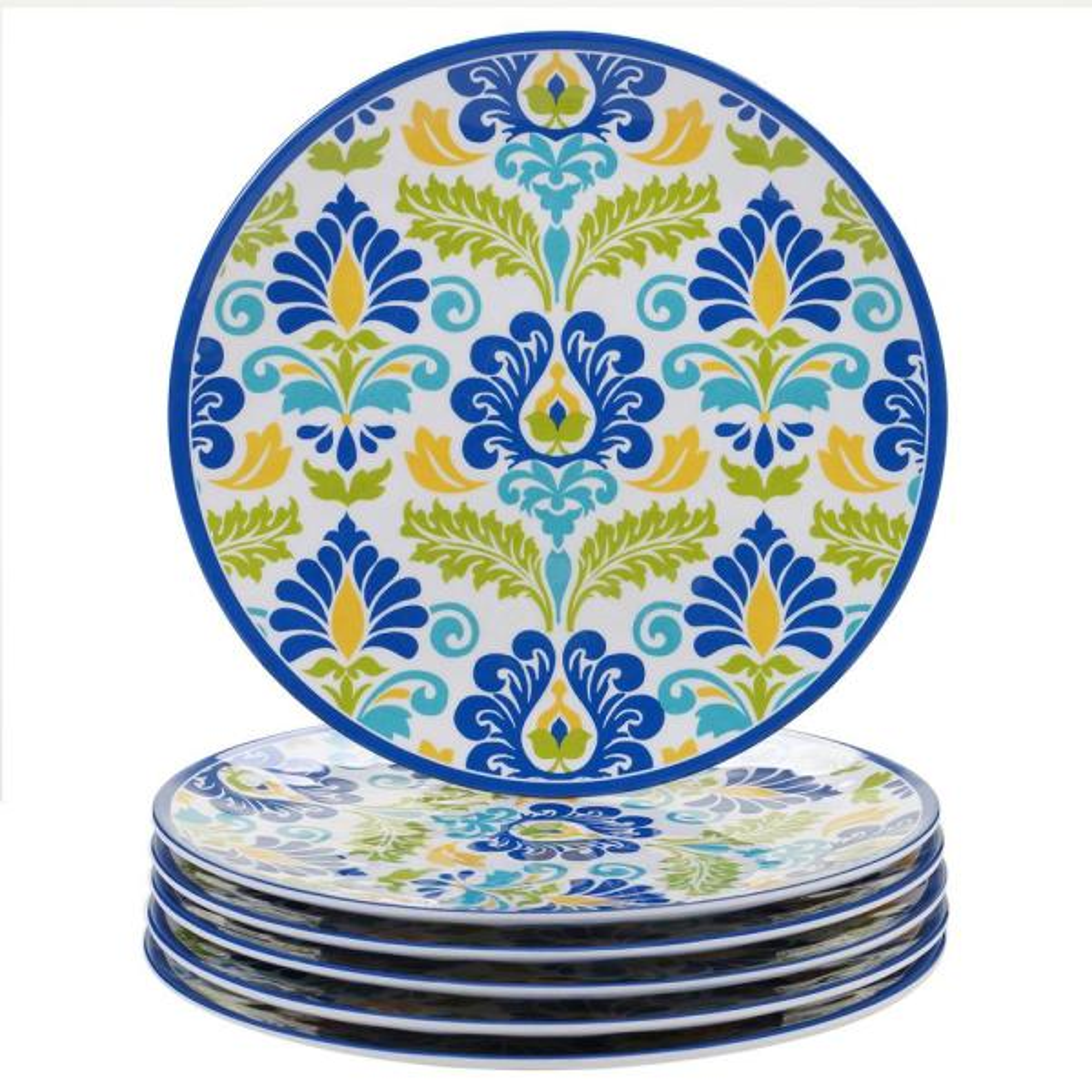 Certified International Martinique Multicolor Dinner Plate (Set of 6) 23990SET6