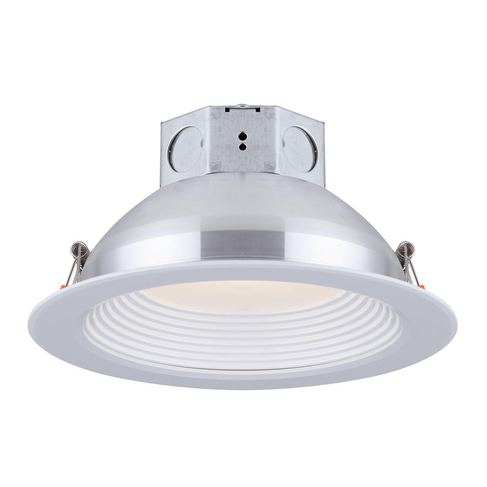 Canarm 6 In White Integrated Led Recessed Kit