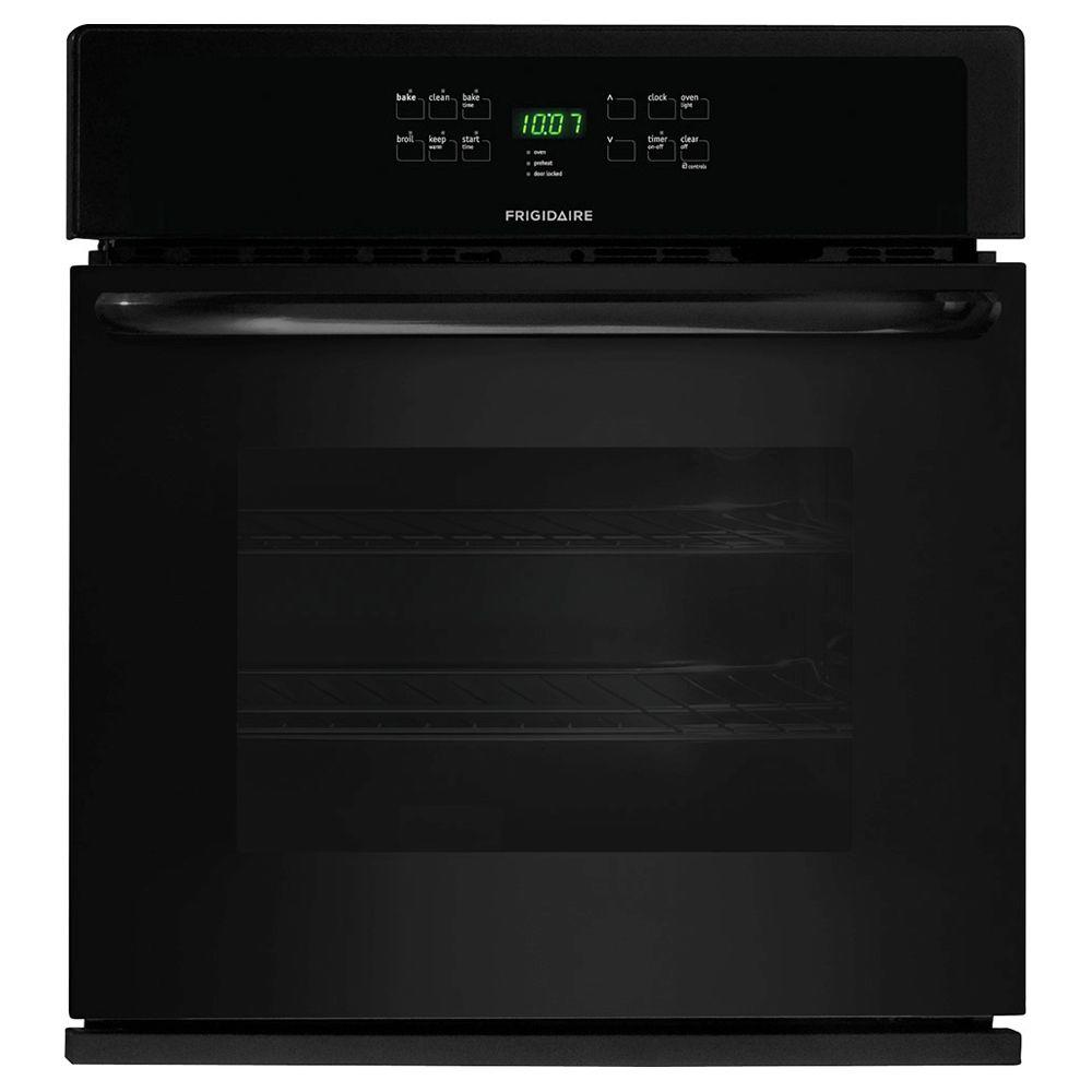 Frigidaire 30 in. Single Electric Wall Oven Self-Cleaning in Black