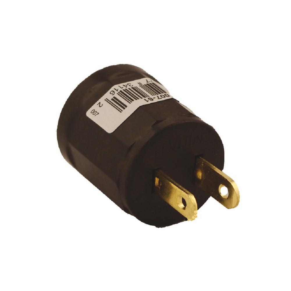 Leviton 600 Watt Medium Base Outlet To Socket Lampholder Brown 61 L14 Plug Wiring House