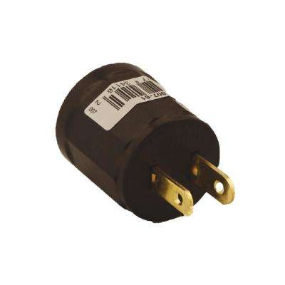 600-Watt Medium Base Outlet to Socket Lampholder, Brown