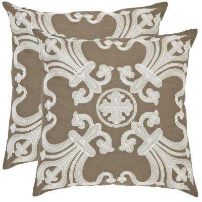 Collette Embroidered Pillow (2-Pack)