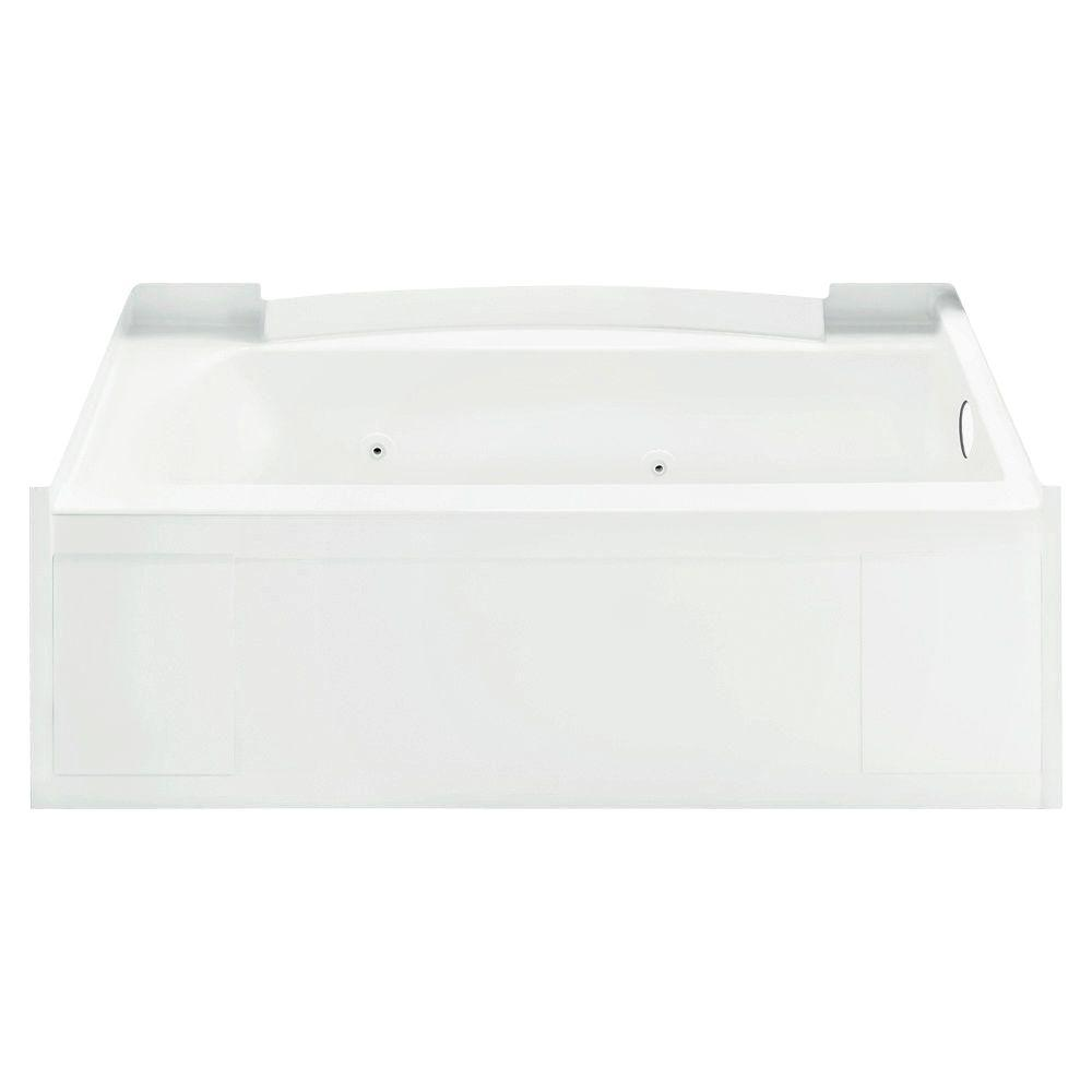 STERLING Accord 5 ft. Whirlpool Tub in White-DISCONTINUED