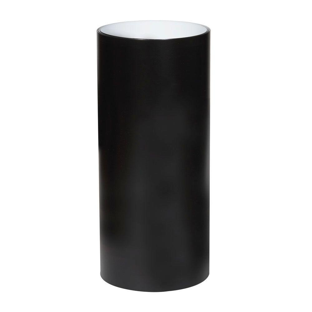 Amerimax Home Products  021 in  x 24 in  x 50 ft  PVC Coated Black Aluminum  Trim Coil