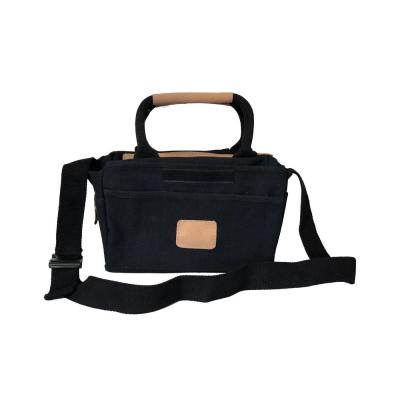 14 in. Canvas Tool Bag in Black