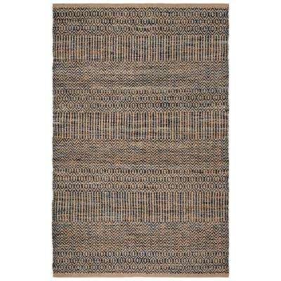 Cape Cod Navy/Natural 8 ft. x 10 ft. Area Rug