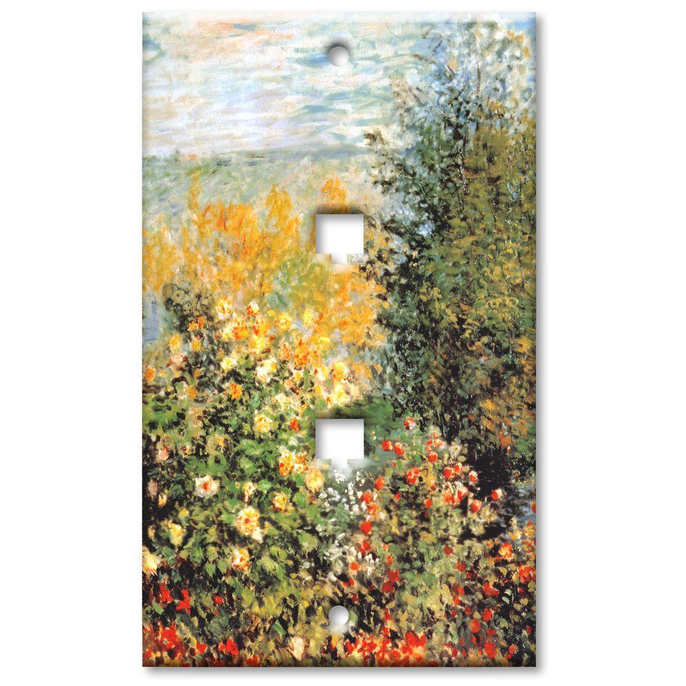 Art Plates Monet Stiller Winkle 2 Phone Jack Wall Plate