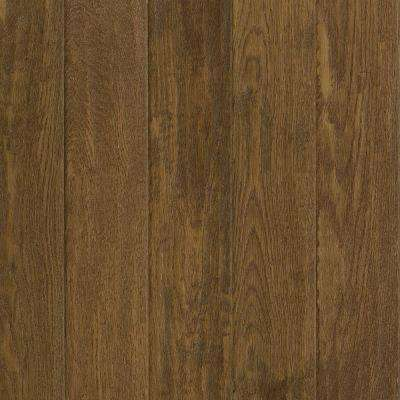 Take Home Sample - American Vintage Tawny Oak Solid Scraped Hardwood Flooring - 5 in. x 7 in.
