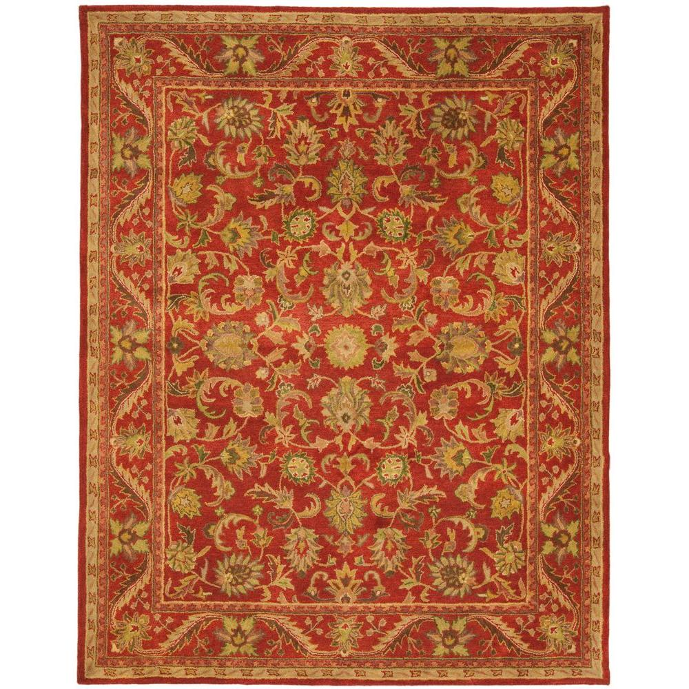 Safavieh Antiquity Red 8 Ft 3 In X 11 Ft Area Rug At52e