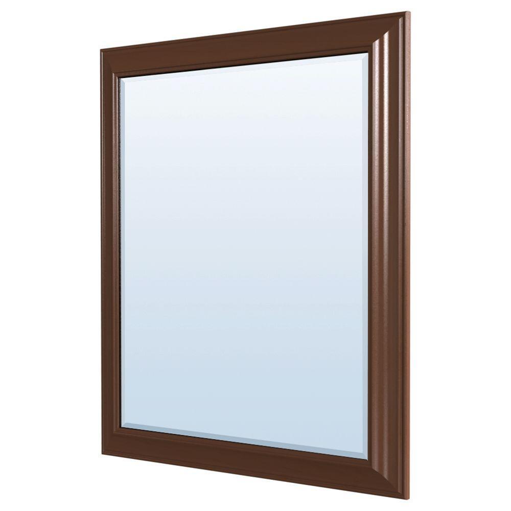 MasterBath 36 in. L x 30 in. W Wall Mirror in Java