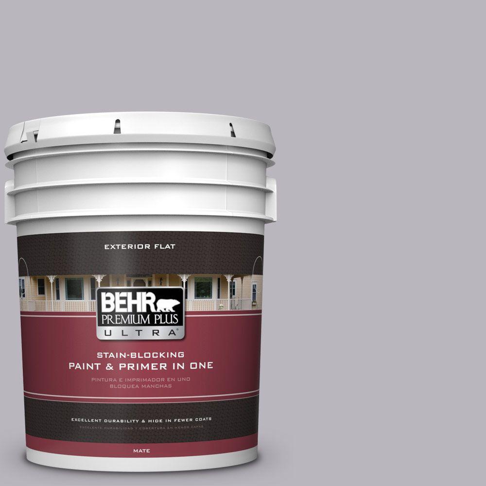 BEHR Premium Plus Ultra 5-gal. #N550-3 Best in Show Flat Exterior Paint