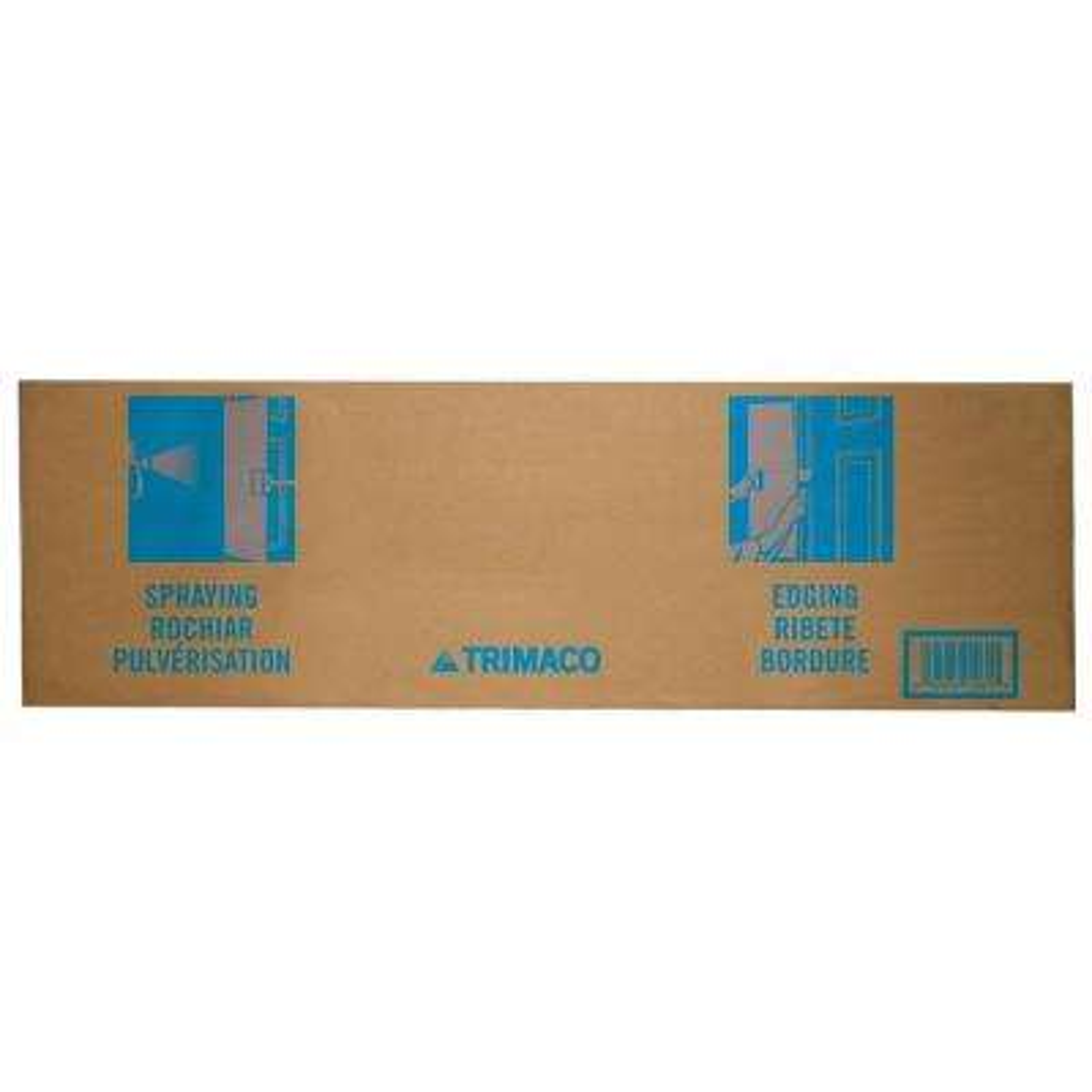 Trim 36 in. Cardboard Paint Shield