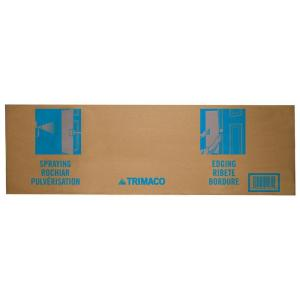 10 in. x 31 in. Cardboard Paint Shield