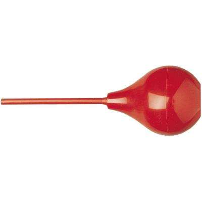 3 in. Red Rubber Blow-Out Bulb