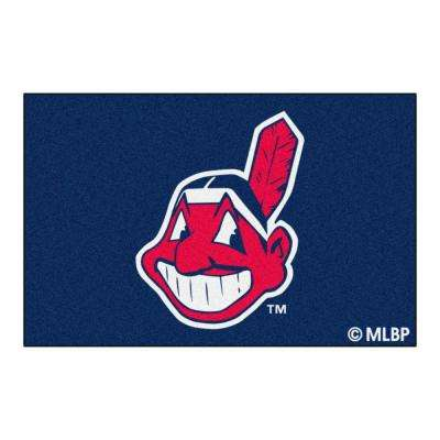 Cleveland Indians 1 ft. 7 in. x 2 ft. 6 in. Accent Rug