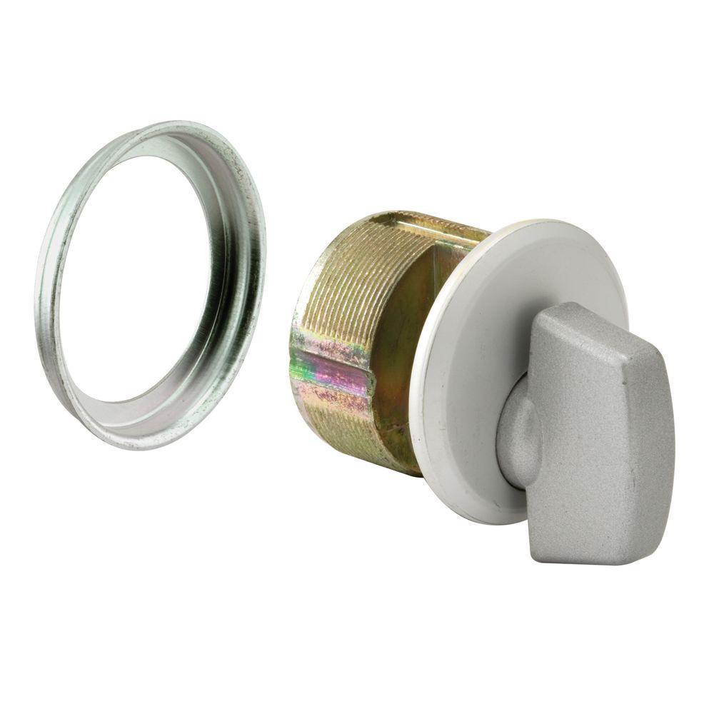 Prime-Line Mortise Aluminum Thumbturn Cylinder