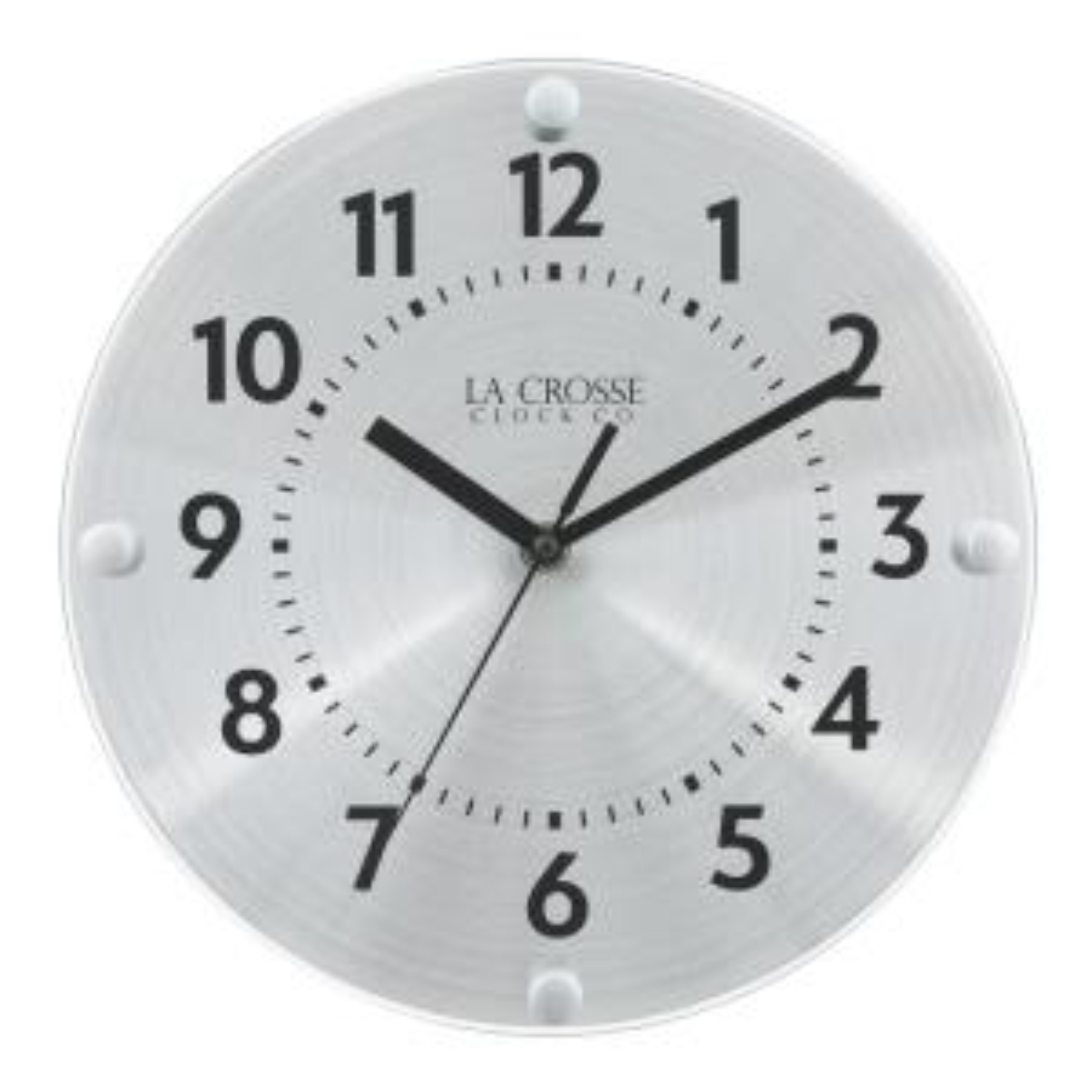 10 In. Orion Metal Analog Quartz Wall Clock