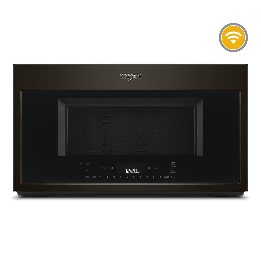Smart Over The Range Convection Microwave In Fingerprint Resistant Black
