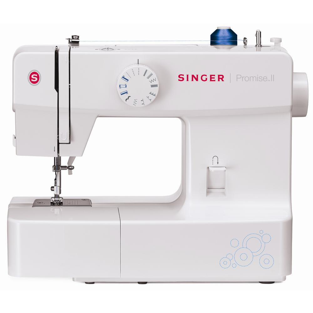 SINGER SEWING CO. Promise II 13-Stitch Sewing Machine, White