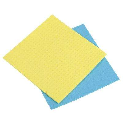 Cellulose Sponge Cloths (2-Pack)